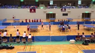 島根県高校卓球インターハイ予選 準決勝