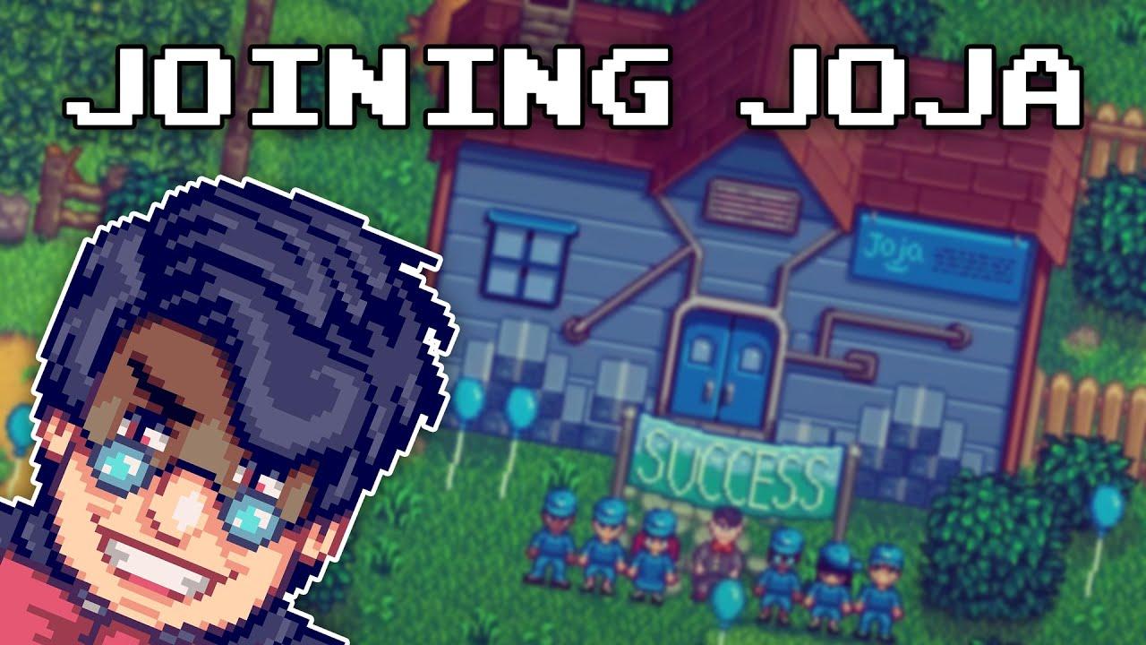 Joining Joja - Stardew Valley - YouTube