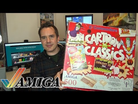 Amiga 500 Plus Computer System Review - Cartoon Classics