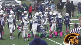 Eastside Cowboys vs. Redford Seahawks (B-Team) Game Highlights (10-14-2017)