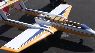 Boomerang R/C Jet Flying At The Fox Valley Aero Club 2