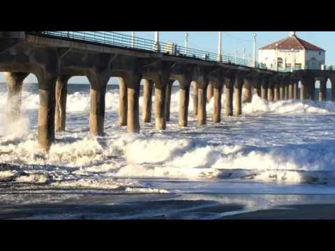 Manhattan Beach Big Storm Surf