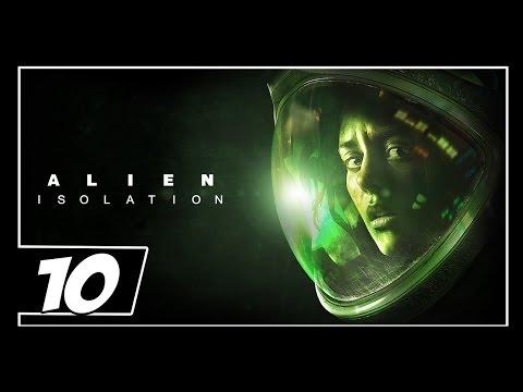 Alien: Isolation: Detonado Parte 10 - Larga do Meu Pé!! Alien Maldito!!!  Dublado em português [PS...