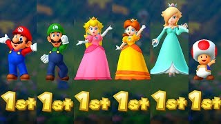 Mario Party 10 - All Characters Winning Animations