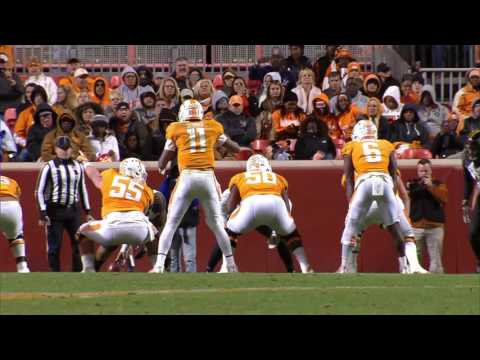 Highlights: Tennessee 63, Missouri 37 (Nov. 19, 2016)