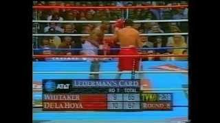Oscar De La Hoya vs Pernell Whitaker 12.4.1997 - WBC World Welterweight Championship