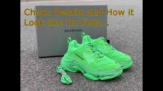Unboxing \u0026 On Feet Balenciaga Triple s