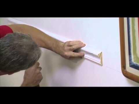 how to put up a dado rail