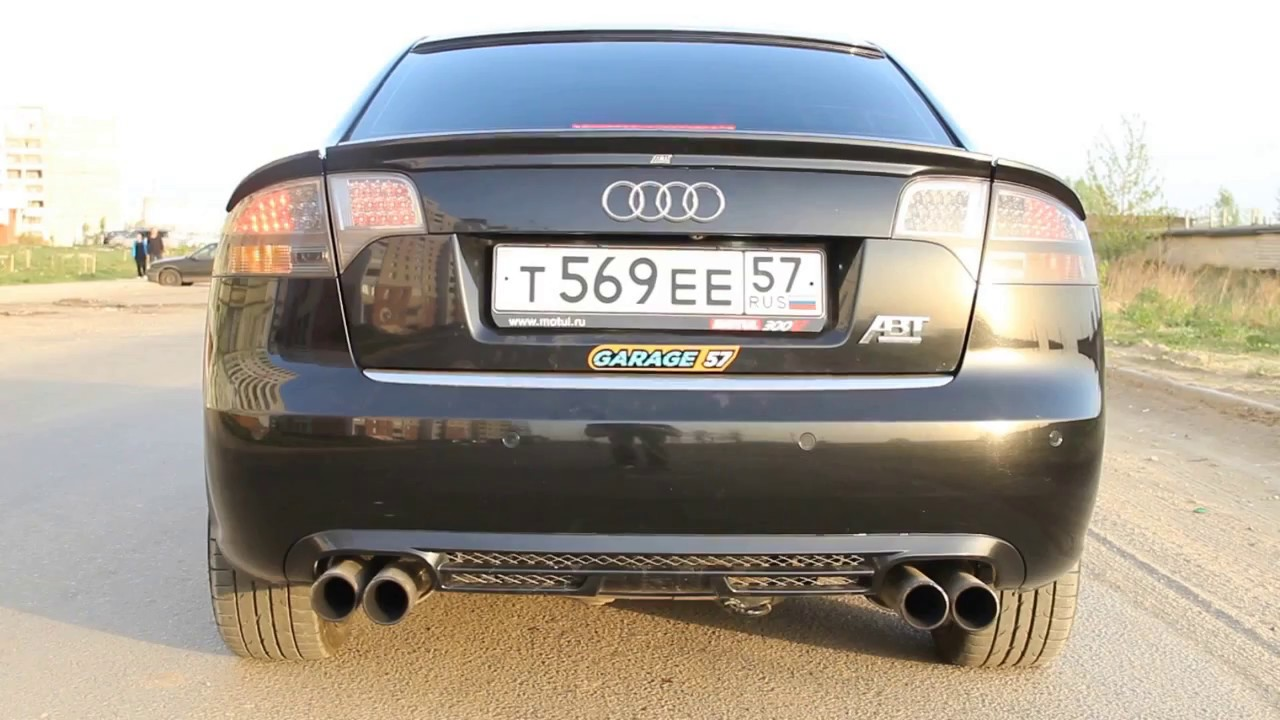 Изготовление кастомной выхлопной системы на Audi A4 2.0 turbo