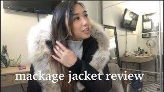 REVIEW: MACKAGE HOODED DOWN PARKA | heycarmen