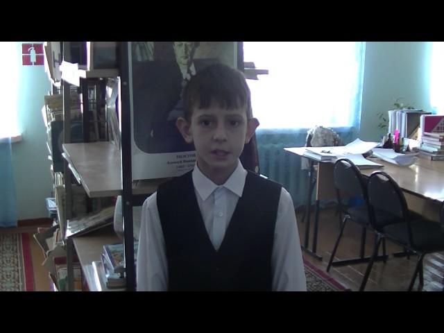 Изображение предпросмотра прочтения – СерёжаБудаев читает произведение «Стрекоза и Муравей» И.А.Крылова