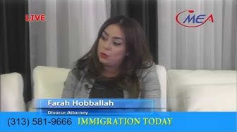 IMMIGRATION TODAY  Mohamed Elsharnoby  DEC 9 2015 with Nura Farah