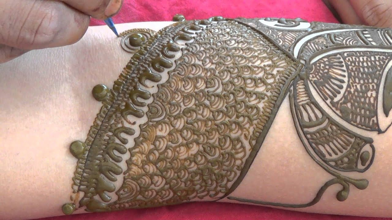 Mehndi Bridal Design Latest : Full bridal henna mehndi design latest indian mehendi
