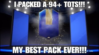 I PACKED A 94+ TOTS!!! - MY BEST PACK EVER!!!