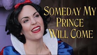 Gambar cover Snow White - Someday My Prince Will Come - Cover by Evynne Hollens