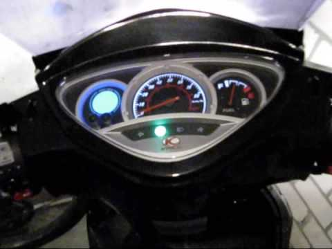 kymco people s 50 4t 25km 2009 - youtube