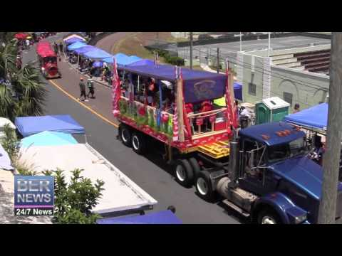 Somerset Brigade Band & Train In The Bermuda Day Parade, May 26 2014