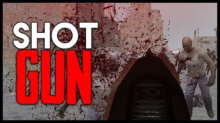 Unlimited Shotgun Ammo vs ZOMBIES! - 7 Days to Die Gameplay : Part 22