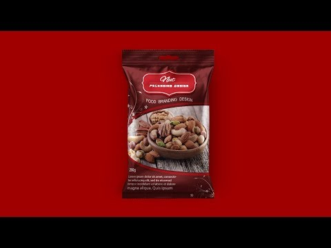 Product Packaging Design (Food Pack) - Photoshop Tutorial