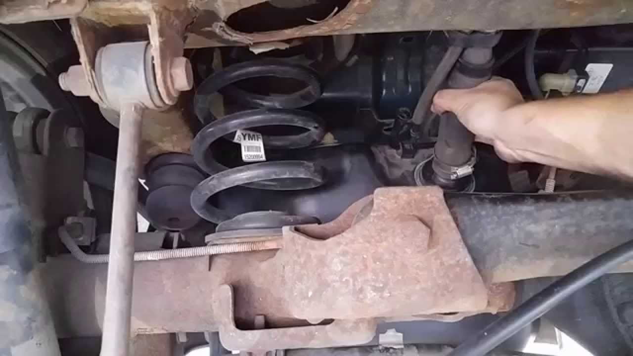 chevy tahoe remove gas tank  replace fuel pump step