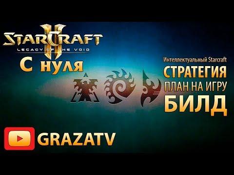 Starcraft 2 с нуля! Выпуск №6 - Интеллектуальный Starcraft: стратегия, план на игру, билд