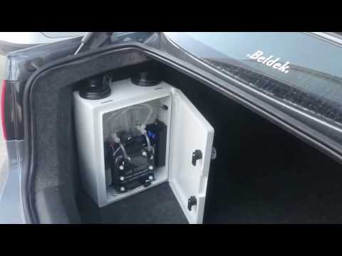 PURE HYDROGEN ON VW JETTA 2,0 TDI, WATER POWERED VW