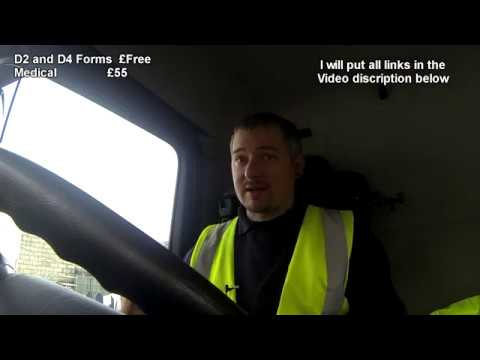 What You Need To Become An HGV / LGV Class2 Driver And What It Cost Me