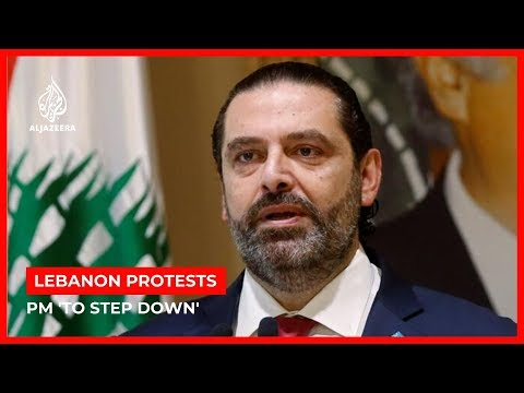 Lebanon PM Saad Hariri to submit resignation after mass protests