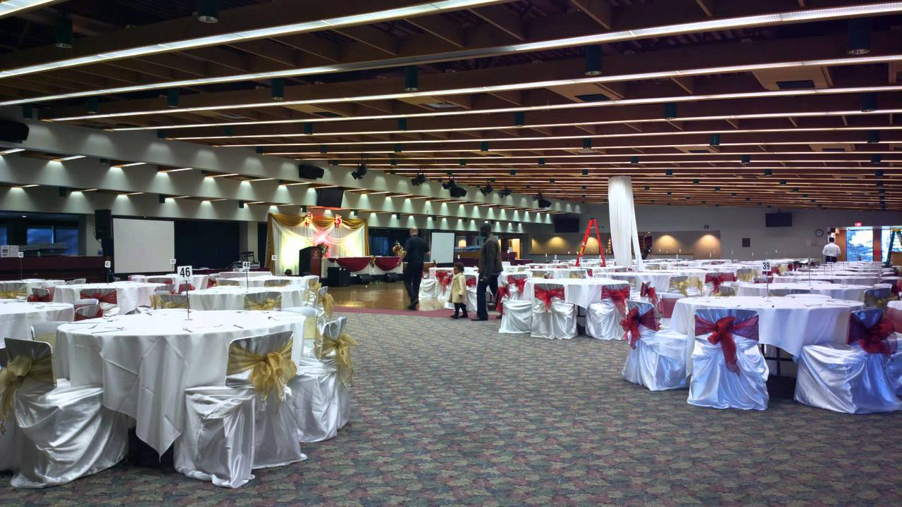 Reception Hall Decorations. Wedding Decoration Ideas  banquet hall decorations by Noretas Decor Inc YouTube