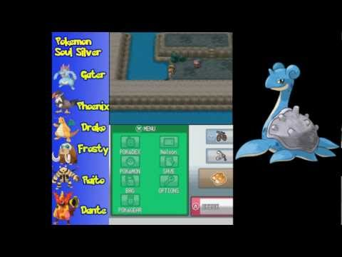 Let's Play Pokemon Soul Silver Final Extra -  Secret Chambers and Lapras