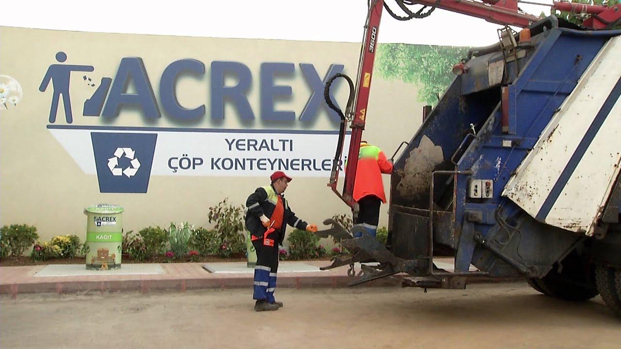 Acrex Yeraltı Cöp Konteynerleri