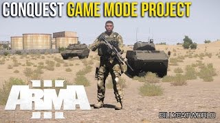 ARMA 3 (PC) - Battlefield Style Conquest Game Mode Project (First Look)