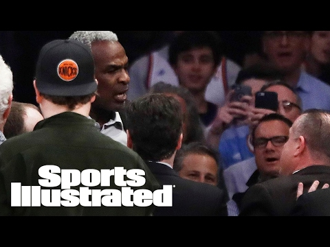 NY Knicks vs. LA Clippers: Charles Oakley Is Not A Person To Mess With | SI NOW | Sports Illustrated