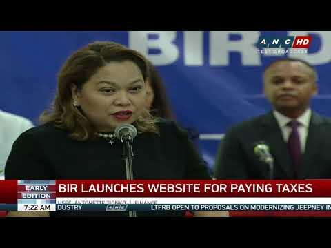 BIR, DBP launch 24/7 online tax payment portal