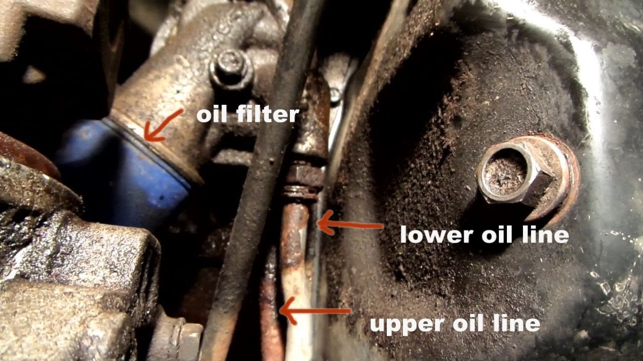 Replacing An Oil Cooling Line On A Suburban