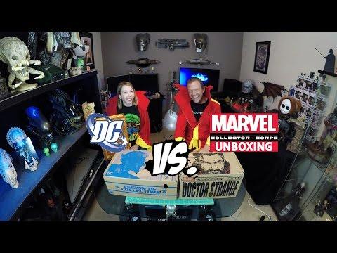 DC Legion of Collectors vs Marvel Collectors Corp - Batman Villains vs Dr. Strange | Guru Reviews