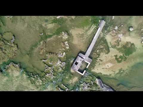 [4K]   米須海岸 湧き水  沖縄  ドローン 空撮