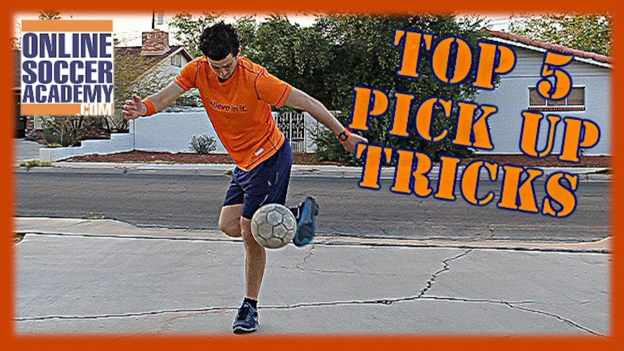 6ac10dd3c Top 5 Juggling Pick Up Tricks! - Online Soccer Academy - YouTube