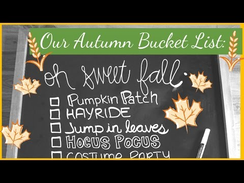 Celebrate the Season with Us | Our Autumn Bucket List!