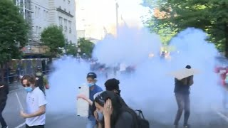 White House Denies Using Tear Gas on Protesters
