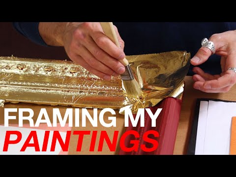 """How to make your own """"ANTIQUE"""" Picture Frames"""