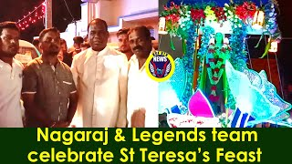 KGF VTV NEWS |  St Therese's feast celebration by Palkar Ward Legends Team