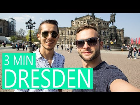 Dresden in 3 minutes 📣 Great tour in Dresden in Germany