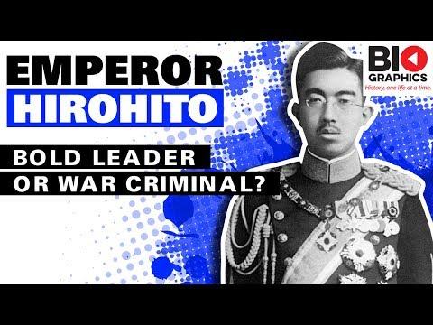 Emperor Hirohito: Bold Leader or War Criminal?