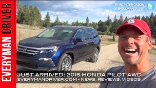 2016 Honda Pilot AWD on Everyman Driver (Just Arrived)
