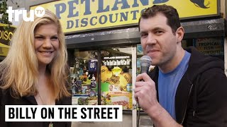 "Billy on the Street - ""Joseph Gordon-Levitt Pursuit"" with Kristen Johnston"