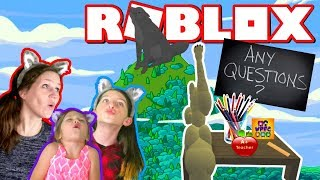 THE TEACHER IS HERE! PACK MOM HAS GOT A QUESTION!? WOLVE'S LIFE ROBLOX ROLEPLAY