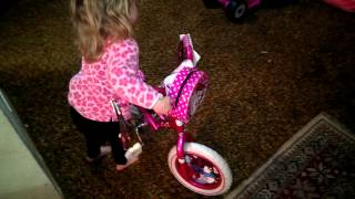 Happy birthday hello kitty bike..