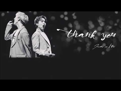 [Karaoke/Thaisub] Jinho x Hui – Thank You (고마워)