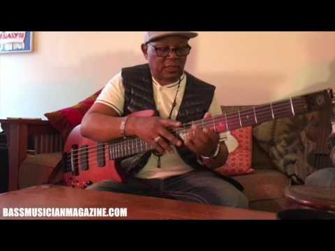 Bass Musician Magazine Interviews Bakithi Kumalo
